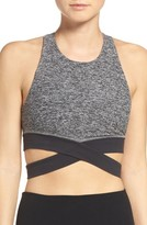 Beyond Yoga Women's Cross Waist Sports Bra