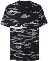 MHI camouflage slouch T-shirt - men - Cotton - L