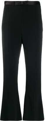 Miu Miu bow detail cropped trousers