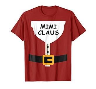 Mimi Claus Shirt Christmas Pajama Family Matching Xmas Shirt