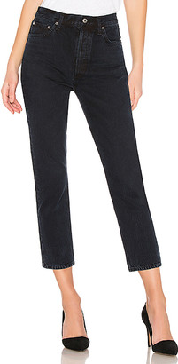 A Gold E Riley High Rise Straight Crop. - size 25 (also