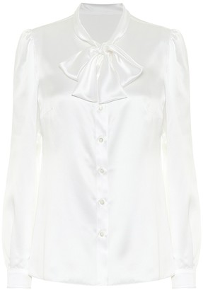 Dolce & Gabbana Silk-satin blouse