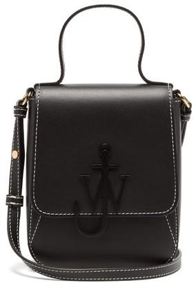 J.W.Anderson Anchor-logo Leather Mini Bag - Black