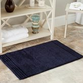 Safavieh Spa 2400 Gram Plush Navy 27 x 45 Bath Rug (Set of 2)