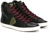 Philippe Model Kids Teen hi-top lace-up sneakers