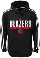 adidas Boys' Portland Trail Blazers Playbook Hoodie