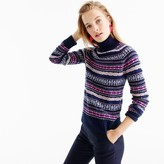 J.Crew Fair Isle turtleneck sweater