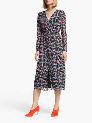 Boden Hazel Floral Midi Dress