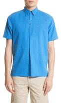 Norse Projects Men's Theo Cotton & Linen Sport Shirt