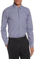 Pal Zileri Men's Gingham Check Sport Shirt