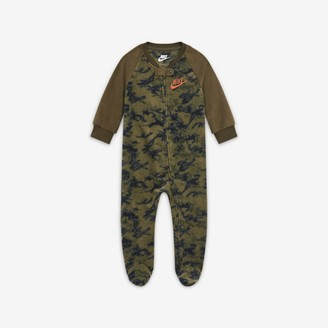 Nike Baby (0-9M) Full-Zip Camo Coverall