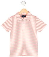 Oscar de la Renta Boys' Striped Polo Shirt w/ Tags