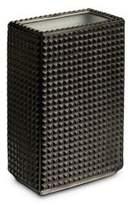 L'OBJET Bibliotheque Black Platinum Vase