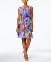 Ronni Nicole Printed Shift Dress