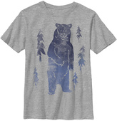 Fifth Sun Athletic Heather Bear Stamped Crewneck Tee - Boys