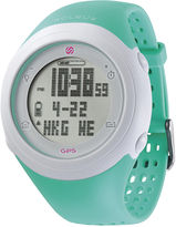 Soleus GPS Fly Teal Silicone Strap Running Digital Sport Watch
