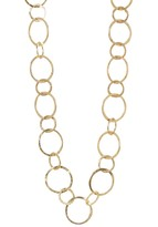 Yochi Multi Round Link Necklace