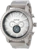 August Steiner Men's AS8067SS Multi-Function Gradient Dial Quartz Bracelet Watch