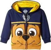 Nickelodeon Toddler Boys' Paw Patrol Character Big Face Zip-Up Hoodies