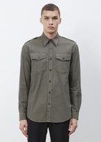Dries Van Noten Khaki Chale Pocket Shirt