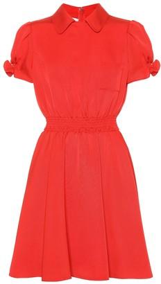 Valentino silk-blend dress