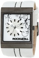 Rockwell Time Unisex MC106 Mercedes White Leather and White Watch