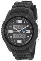 U.S. Air Force Men's Analog-Digital Chronograph Black Resin Strap Watch by Wrist Armor F3/1009