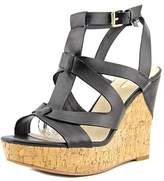 GUESS Womens Harlea Open Toe Casual Platform Sandals.