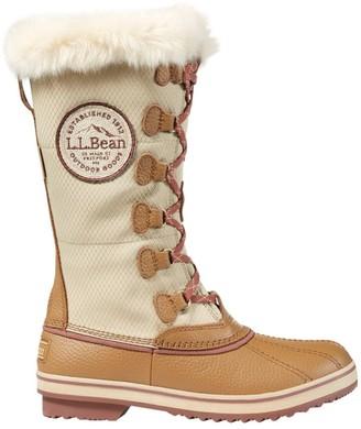 L.L. Bean Women's Waterproof Insulated Rangeley Pac Boots, Tall Patch