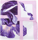 Salvatore Ferragamo iris patterned scarf