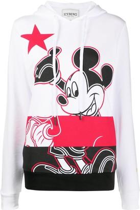 Iceberg Mickey Mouse hoodie