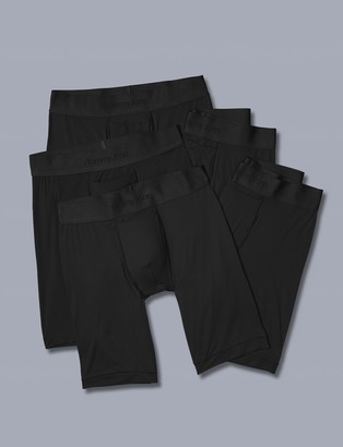 Tommy John Air Mesh Boxer Brief 5 Pack, Black