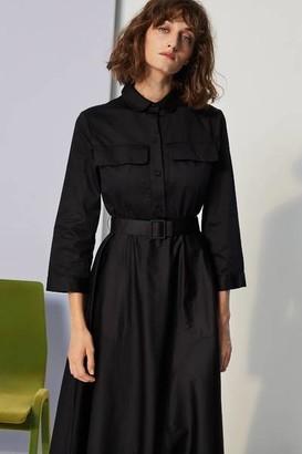 Le Mont Saint Michel - Msm Robbie Patch Pocket Dress Black - 36