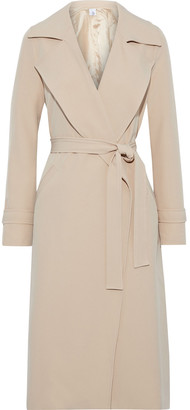 Iris & Ink Agave Belted Cady Trench Coat