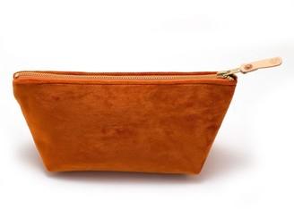 General Knot & Co Vintage Carrot Velvet Travel Clutch