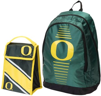 Youth Oregon Ducks Backpack & Lunchbox Combo