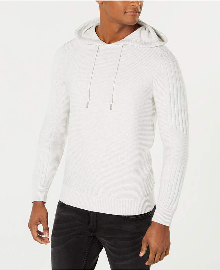 INC International Concepts I.N.C. Men's Hooded Sweater, Created for Macy's