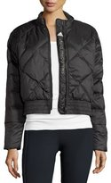 adidas by Stella McCartney Essentials Quilted Jacket, Black