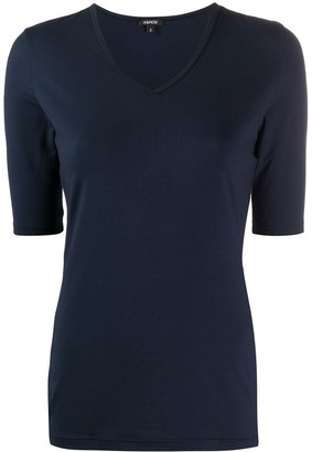 Aspesi v-neck fitted T-shirt