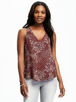 Old Navy Cutout-Back V-Neck Tank for Women