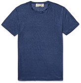 Etro Slim-fit Slub Linen-jersey T-shirt