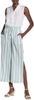 Joie Sylar High Waisted Striped Pants