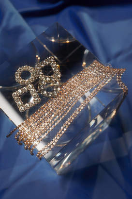 Urban Outfitters Serena Rhinestone Statement Earring