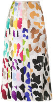 Marco De Vincenzo printed pleat skirt