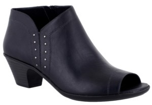 Easy Street Shoes Voyage Open Toe Booties Women's Shoes