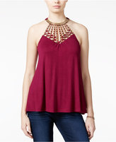 Almost Famous Juniors' Shine Swing Top