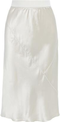 ATM Anthony Thomas Melillo Silk-charmeuse Skirt