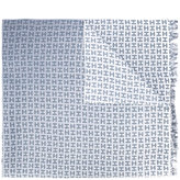 Hemisphere gradient logo scarf