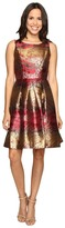 rsvp Millington Metallic Brocade Dress
