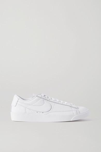 Nike Blazer Low Leather Sneakers - White